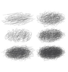 Lines of hand drawn textures scribbles for your vector image
