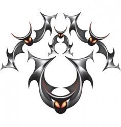 modern bats vector image