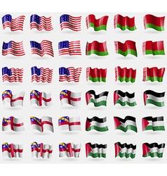 Bikini atoll belarus herm palestine set of 36 vector