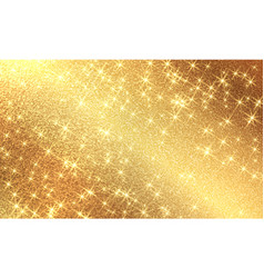 golden foil background template for cards vector image