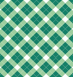 Green tartan vector