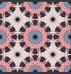 mosaic pattern modern geometric seamless vector image