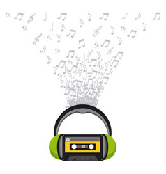Music entertainment line icon vector