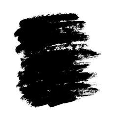 painted grunge stripes black labels background vector image
