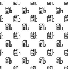 pay device pattern seamless vector image