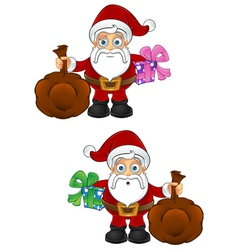 Santa Claus Present Sack vector image