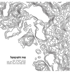Topography map vector