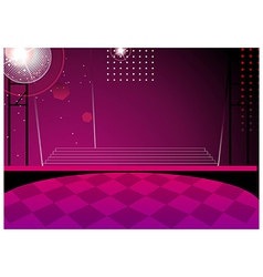 Club Dance Background vector image vector image
