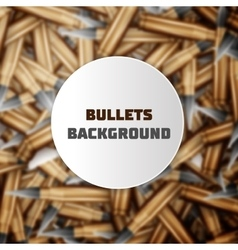 Bullets colorful background vector image