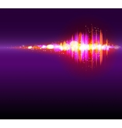 Abstract bokeh equalizer background vector