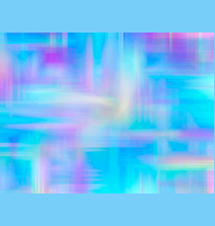 Abstract holographic background 80s - 90s vector