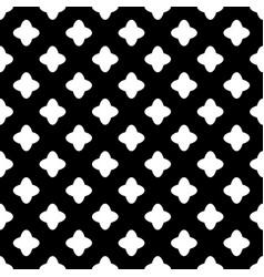 Cross geometric seamless pattern 1002 vector