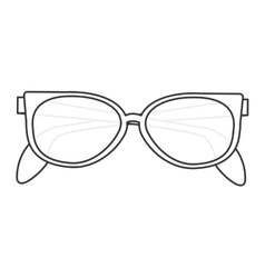 Sunglasses icon vector