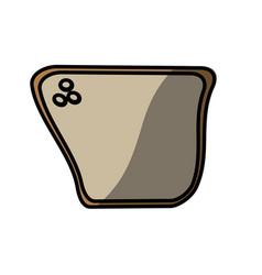bread food picnic shadow vector image vector image