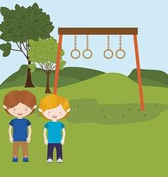 children entertainment vector image vector image