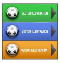 Dropdown sport menu vector image