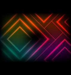 Abstract background with colorful square vector