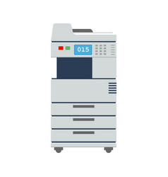 Big office multi-function printer scanner or vector