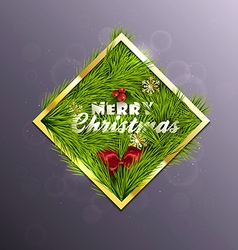 Christmas Background 5 vector image