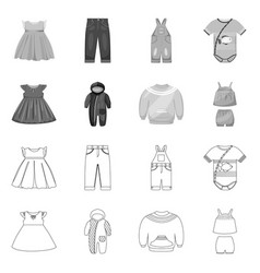 Design fashion and garment logo vector