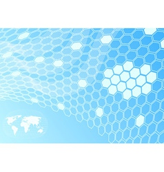Global network - cell concept vector