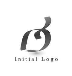 leaf icon is isolated from the background vector image
