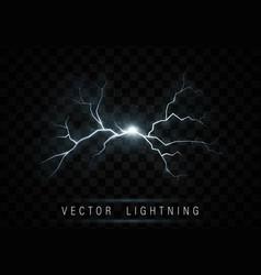 Lightning flash bolt vector