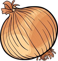 Onion vegetable cartoon vector