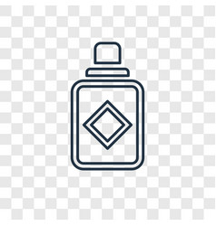 Parfume concept linear icon isolated on vector