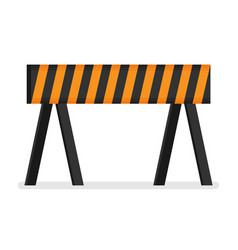 prohibitory road sign icon in flat style isolated vector image