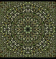 Seamless kaleidoscope pattern background design vector