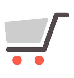 Shopping cart - commercial vector
