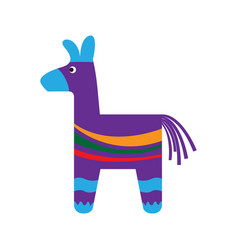 traditional mexican pinata vector image