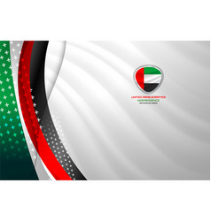 Uae abstract background vector