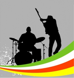 music concert vector image