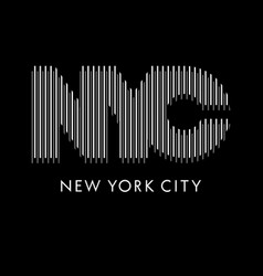 nyc 014 vector image vector image