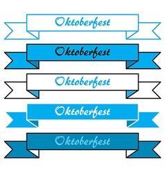 Oktoberfest simple banners vector image