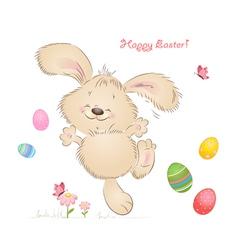 aester rabbit vector image