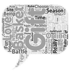 Tis the season text background wordcloud concept vector