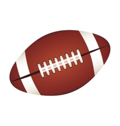 American football ball icon image vector