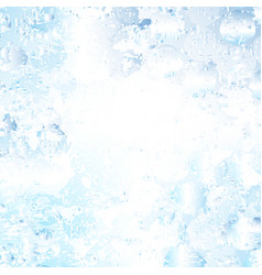 blue stained glowing background vector image