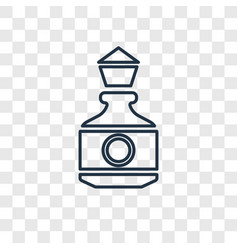 bottle concept linear icon isolated on vector image