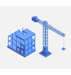 Building houses vector