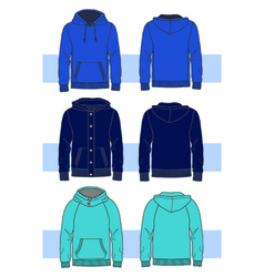 clothes for young men vector image