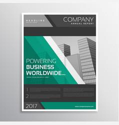 Dark business brochure template design with vector