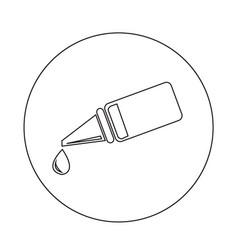 Eye drop icon design vector