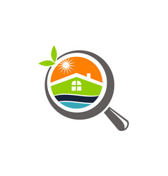 Fresh home searching vector