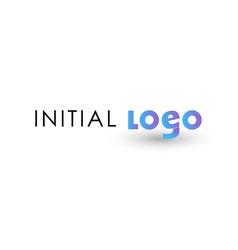g logo initial letter design template vector image