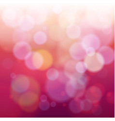 Orange and purple bokeh abstract light background vector