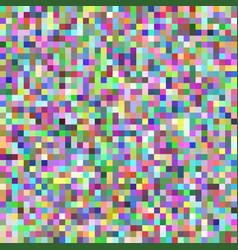 Pixel square tile mosaic background - geometric vector